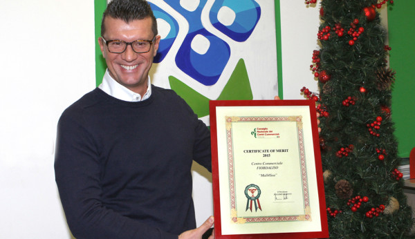 Fiordaliso vince il Certificate of Merit 2015